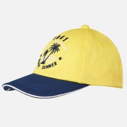 Лятна шапка с козирка за момче Mayoral