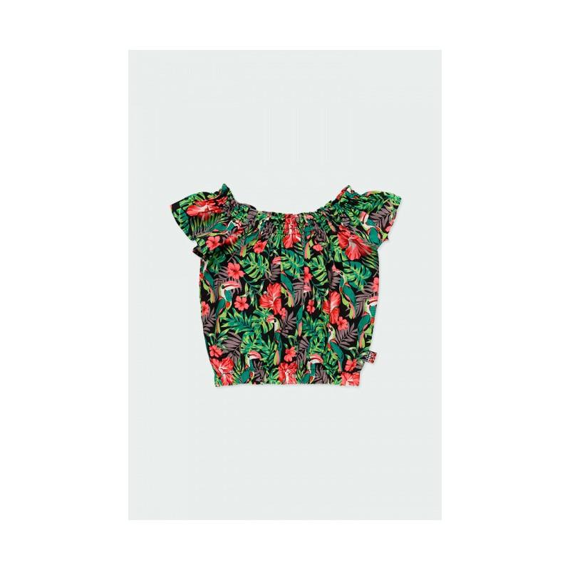 Къса блуза Boboli за момиче