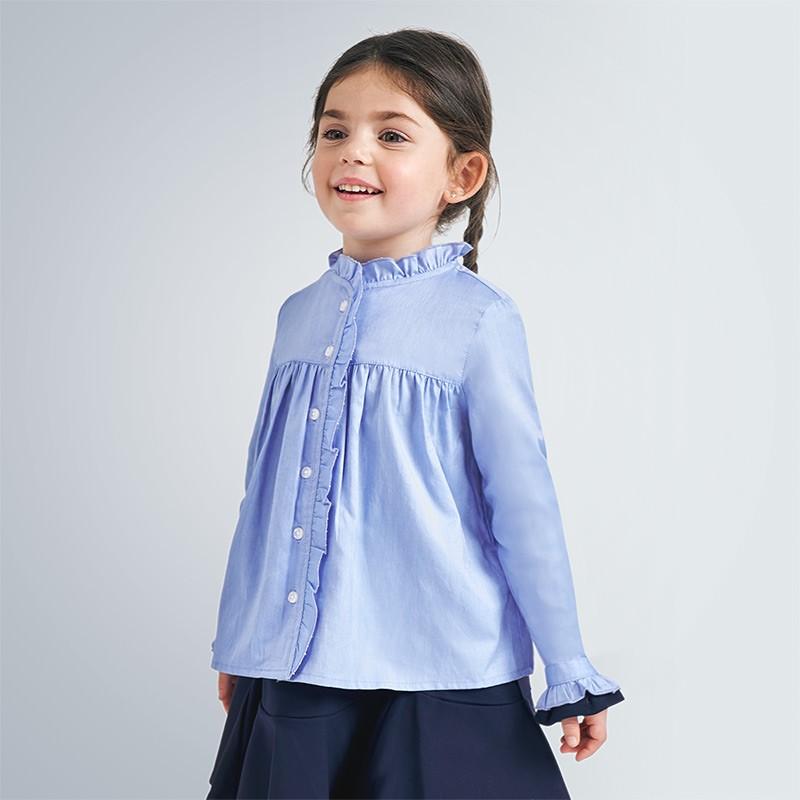 Блуза с дълъг ръкав Mayoral за момиче