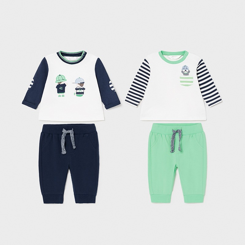Комплект от 4 части Mayoral за бебе момче
