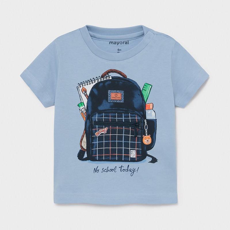 "Тениска ""play"" за момче Mayoral"