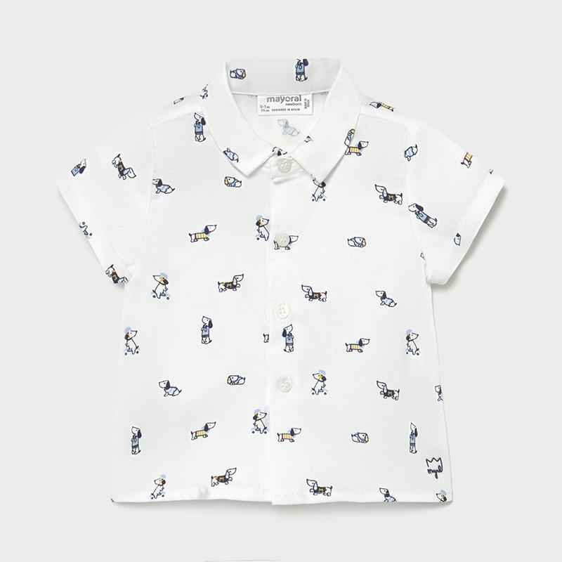 Риза с къс ръкав за момче Mayoral