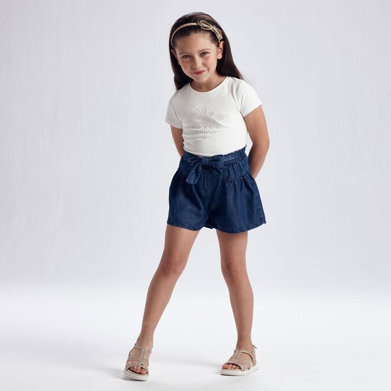 Къси дънкови панталони за момиче Mayoral