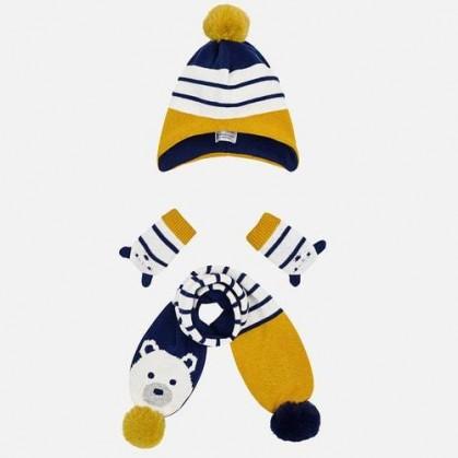 Комплект шапка с шал и ръкавици Mayoral