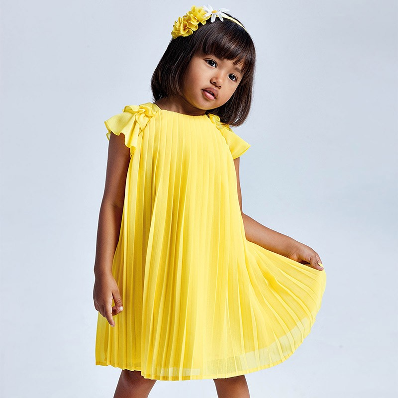 Плисирана рокля Mayoral за...