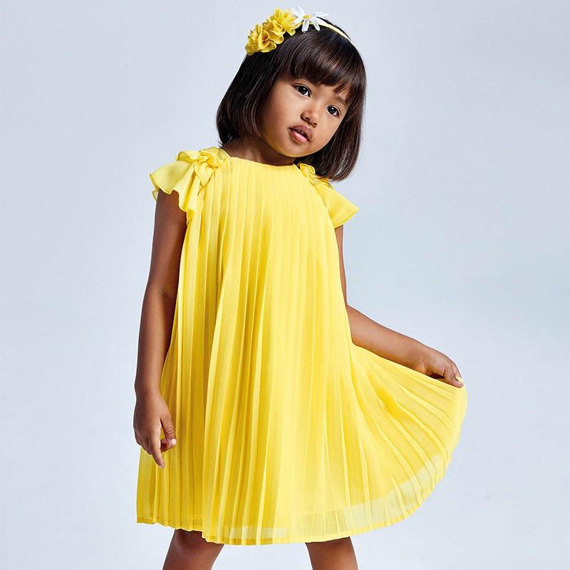Плисирана рокля Mayoral за момиче