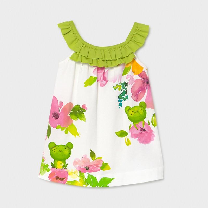 Лятна рокля за бебе момиче Mayoral