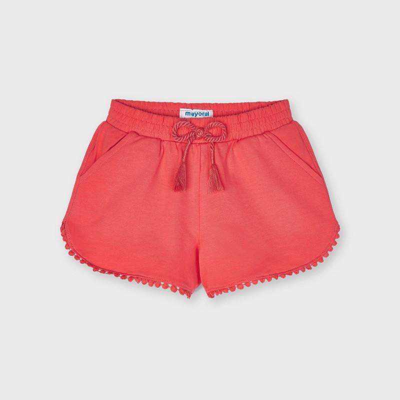 Къси панталонки тип шорти за момиче Mayoral