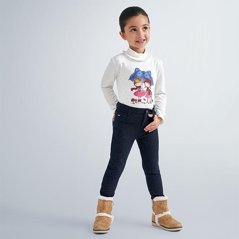 Детски панталон Mayoral с емблема