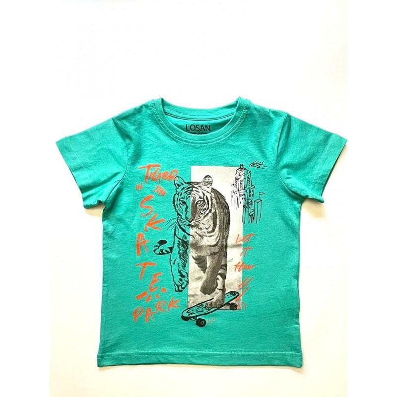"""Тениска за момче """"тигър"""" Losan"""