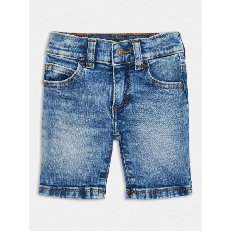 Къси дънкови панталони за момче GUESS
