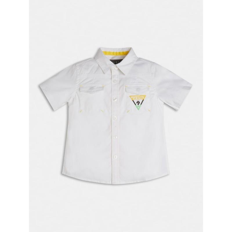 Риза с къс ръкав за момче GUESS