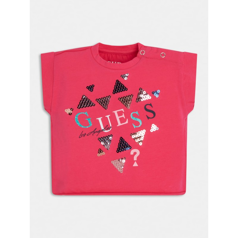Къса тениска за момиче GUESS
