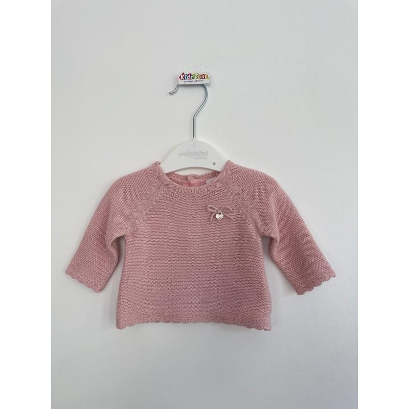 Пуловер за бебе момиче Mayoral