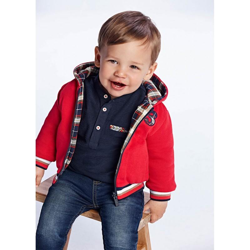 Суичър за бебе момче Mayoral