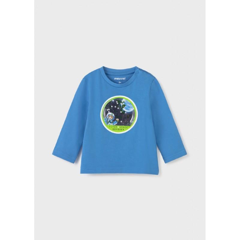 Блуза с дъдлъг ръкав за бебе момче Mayoral 2077-089