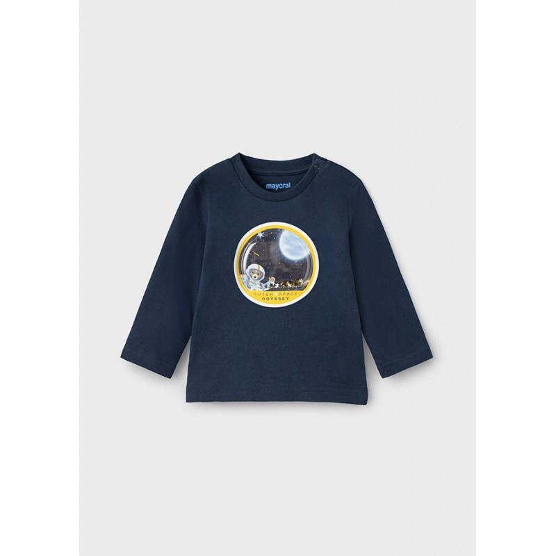 Блуза Космос за бебе момче Mayoral