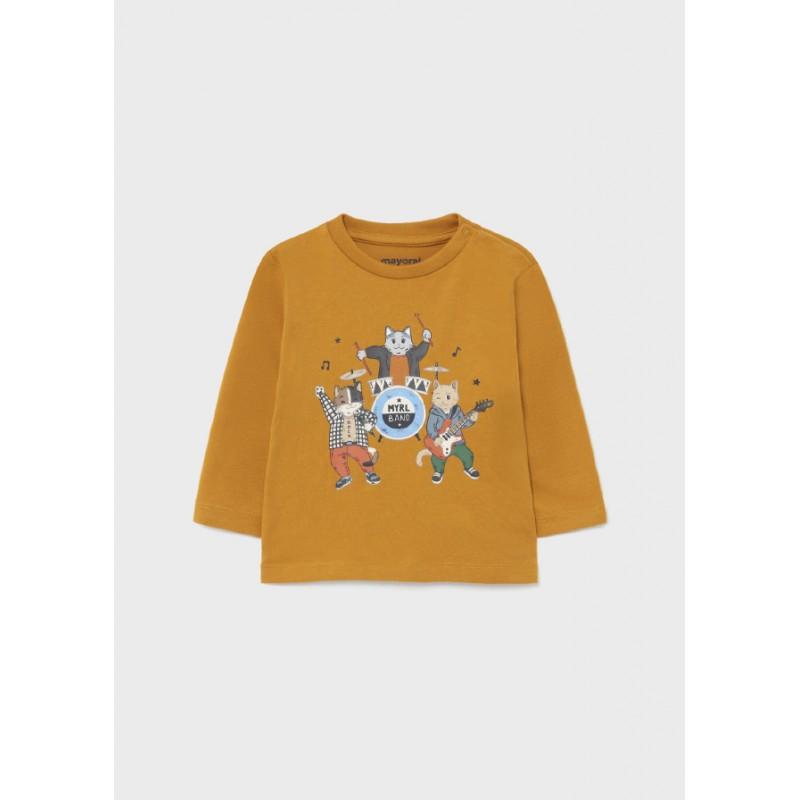 Блуза с дълъг ръкав за бебе момче Mayoral 2073-090