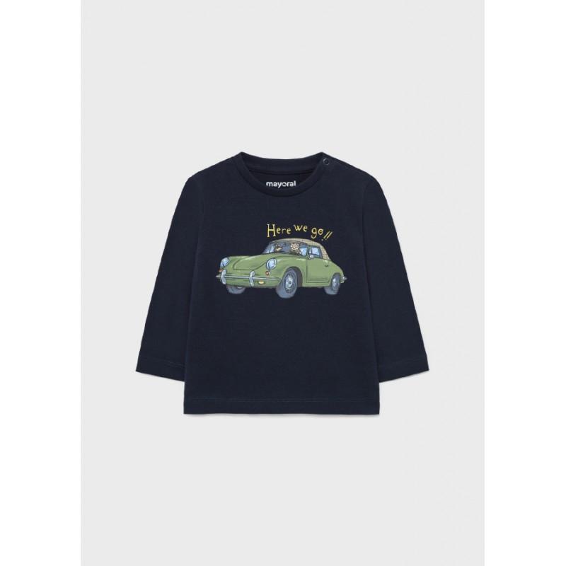 Блуза с апликация кола за момче Mayoral 2067-040