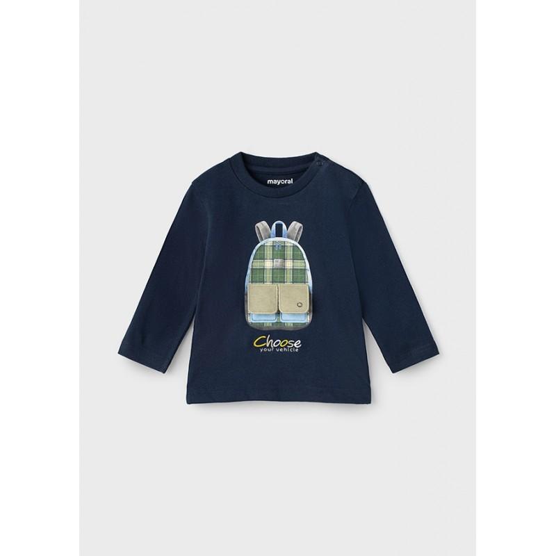 Блуза с апликация за момче Mayoral 2064-041
