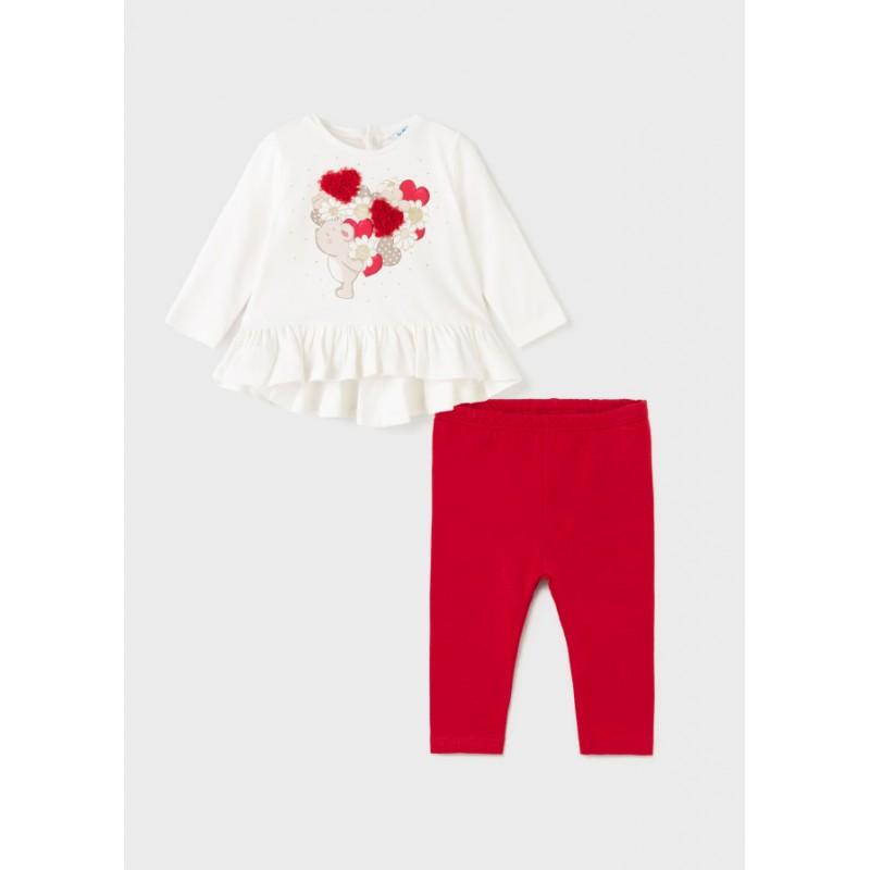 Комплект блуза с клин за момиче Mayoral 2722-046
