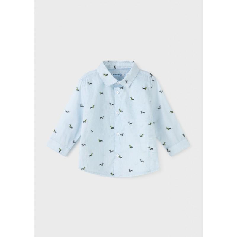 Риза дълъг ръкав за бебе момче Mayoral 2147-067