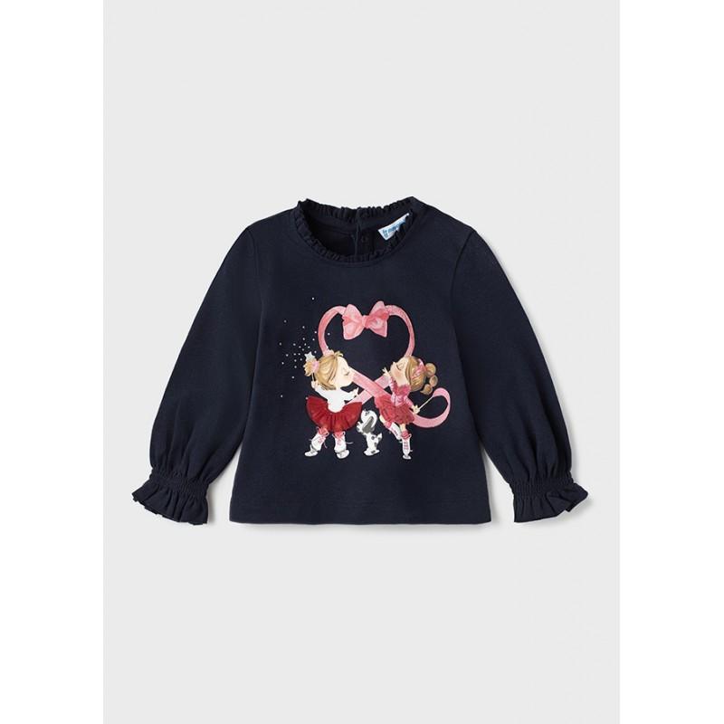 Блуза с дълъг ръкав за бебе момиче Mayoral 2082-097