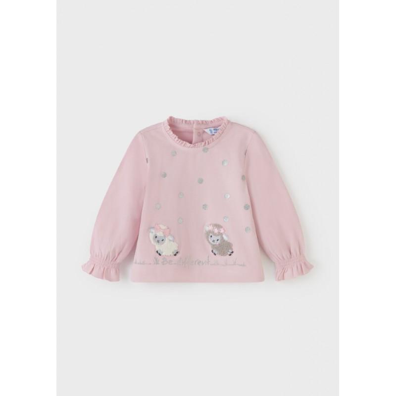 Блуза с дълъг ръкав за бебе момиче Mayoral 2082-094