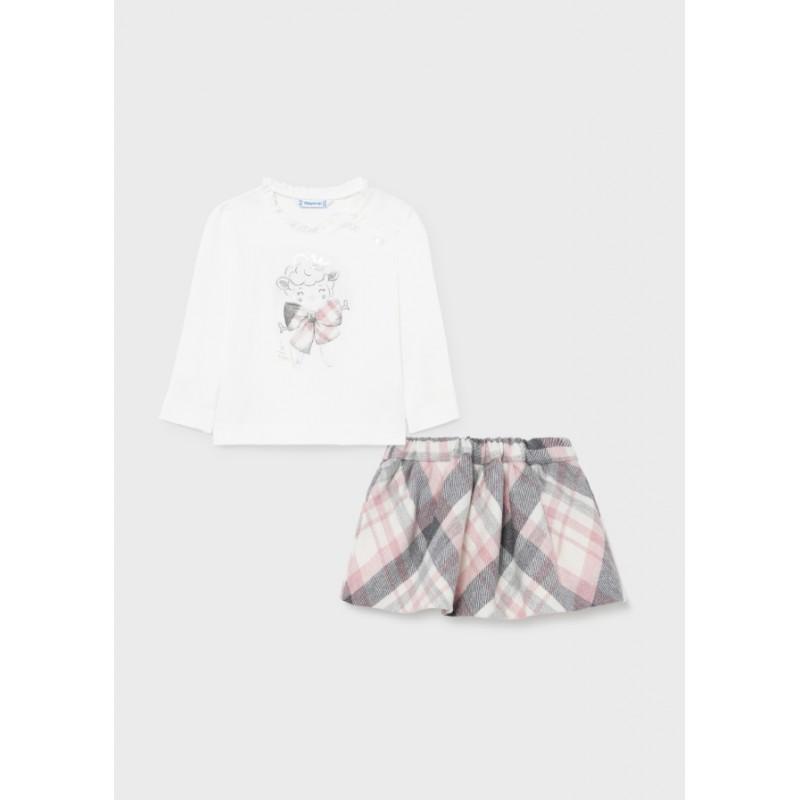 Комплект Mayoral блуза и пола за момиче  2930-011