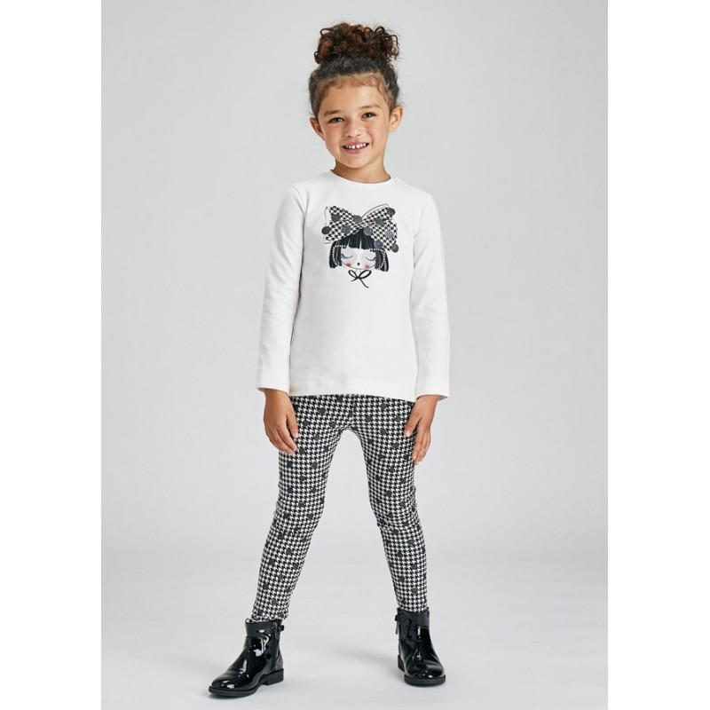 Комплект клин и блуза за момиче Mayoral 4752-058