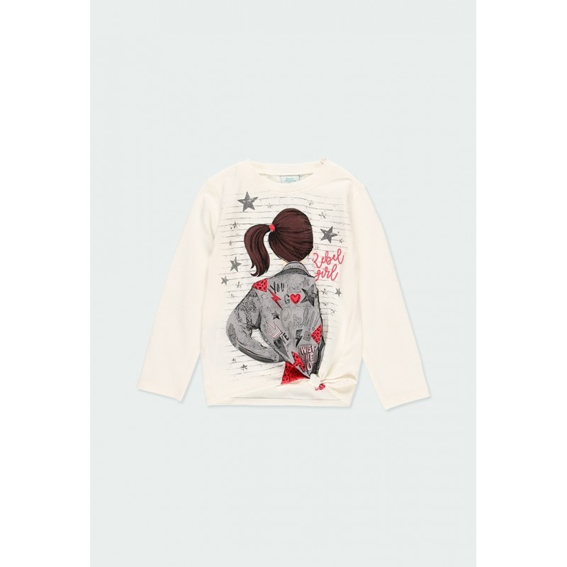 Блуза с възел за момиче Boboli 433145-1111