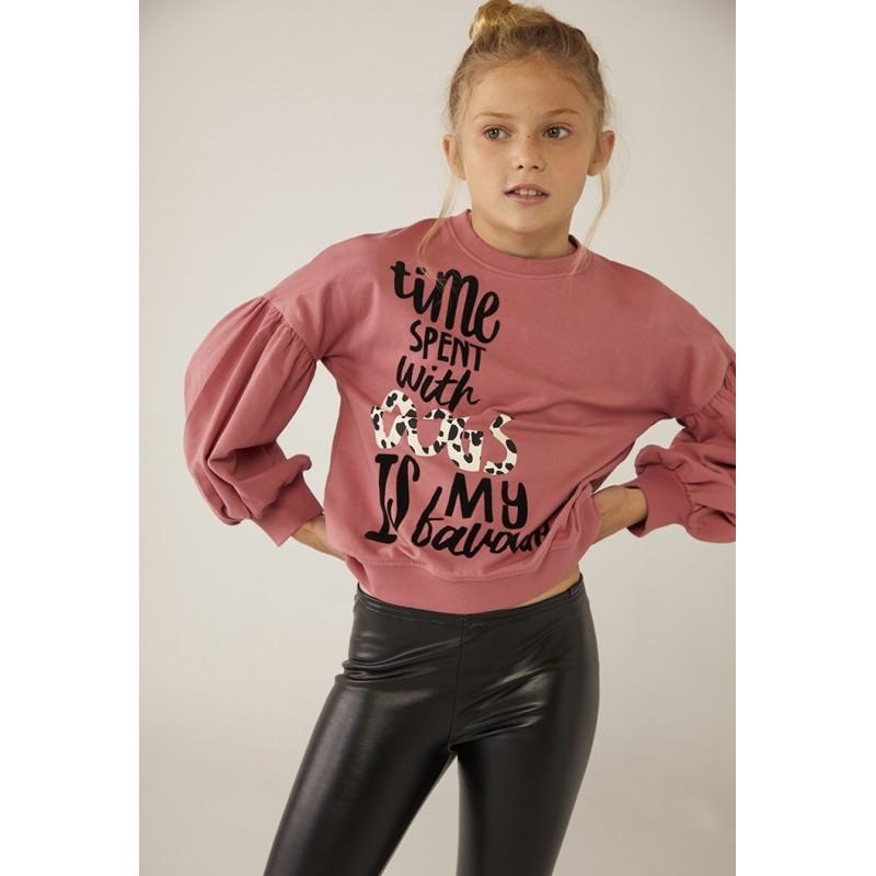 Блуза за момиче с надпис Boboli 443191-3722