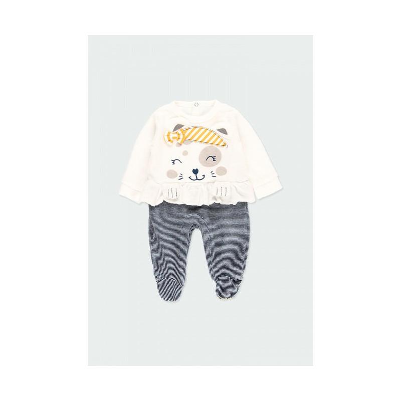 Гащеризон за бебе момиче Boboli 133041