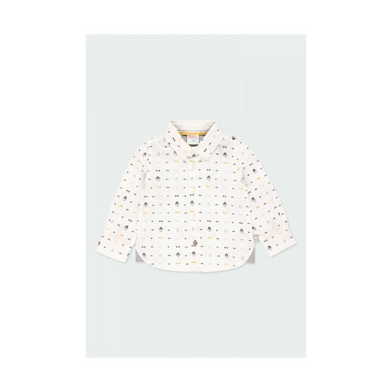 Риза за бебе момче Boboli 713067-9598