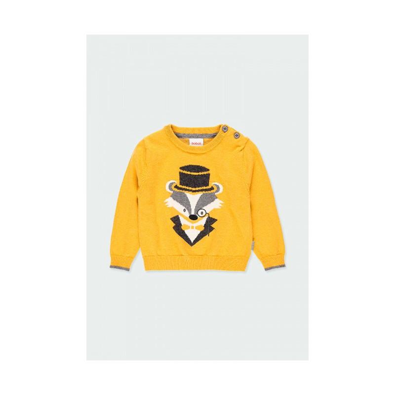 Пуловер за бебе момче Boboli  713146-1155