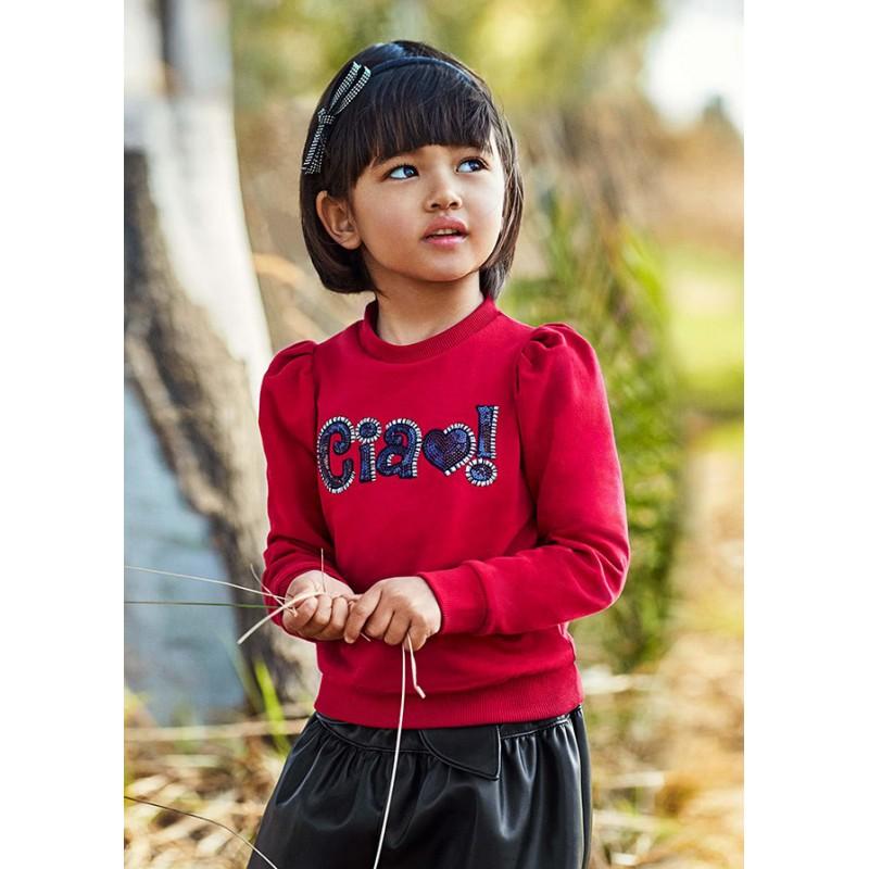 Блуза с надпис за момиче Mayoral 4429-031
