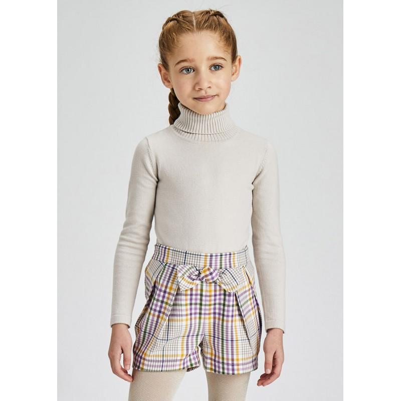 Блуза с поло за момиче Mayoral