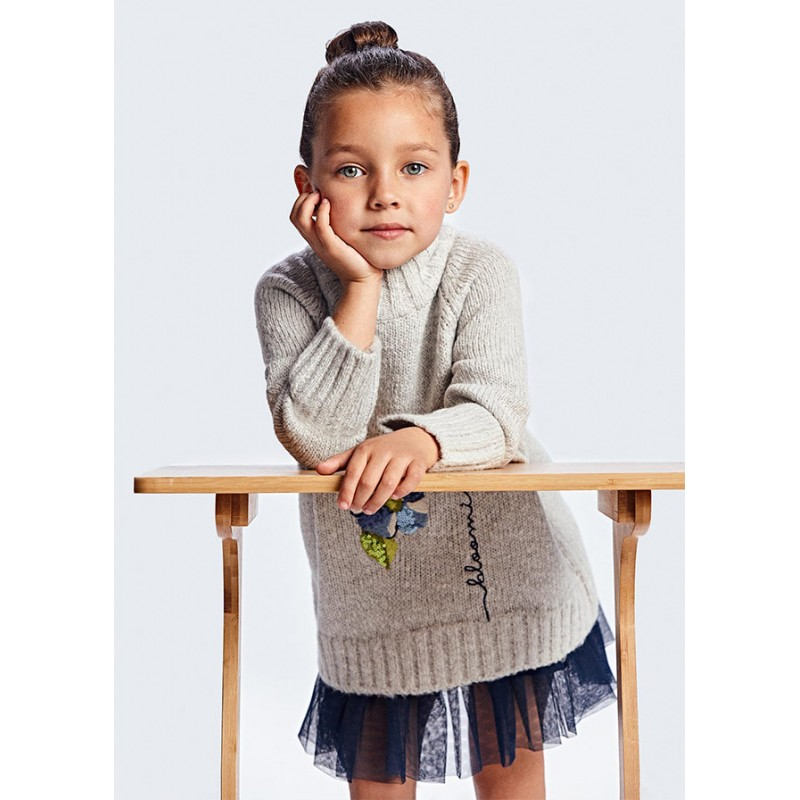 Рокля с пуловер за момиче Mayoral