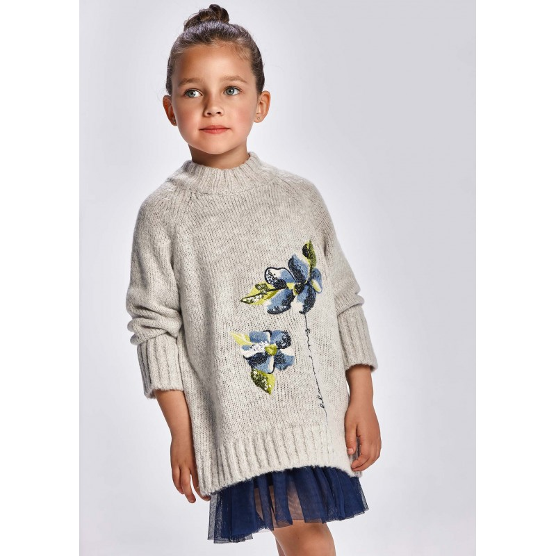 Рокля с пуловер за момиче Mayoral 4931-030