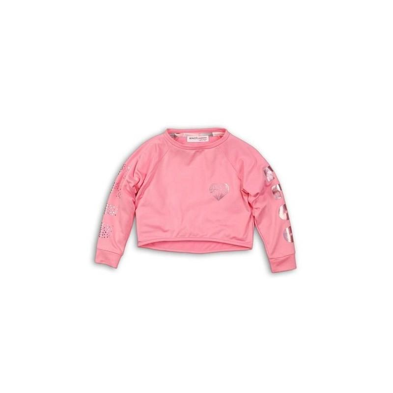 Къса спортна блуза за момиче Minoti