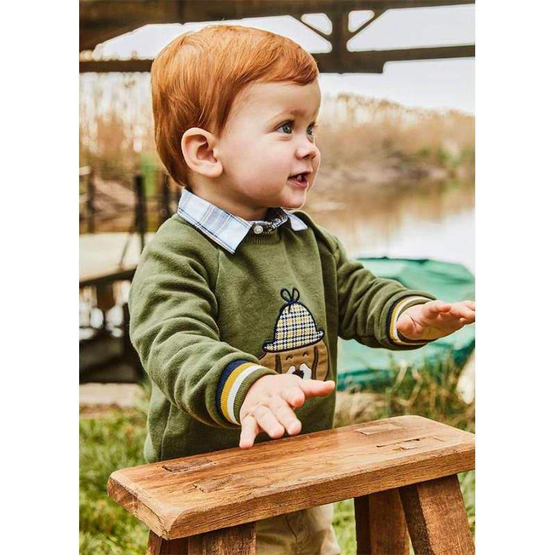 Суичър за бебе момче Mayoral 2410-076