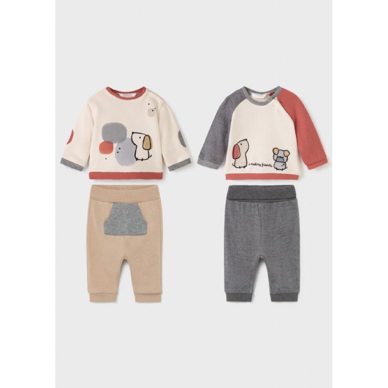 Комплект от 4 части за новородено момче Mayoral 2691-031