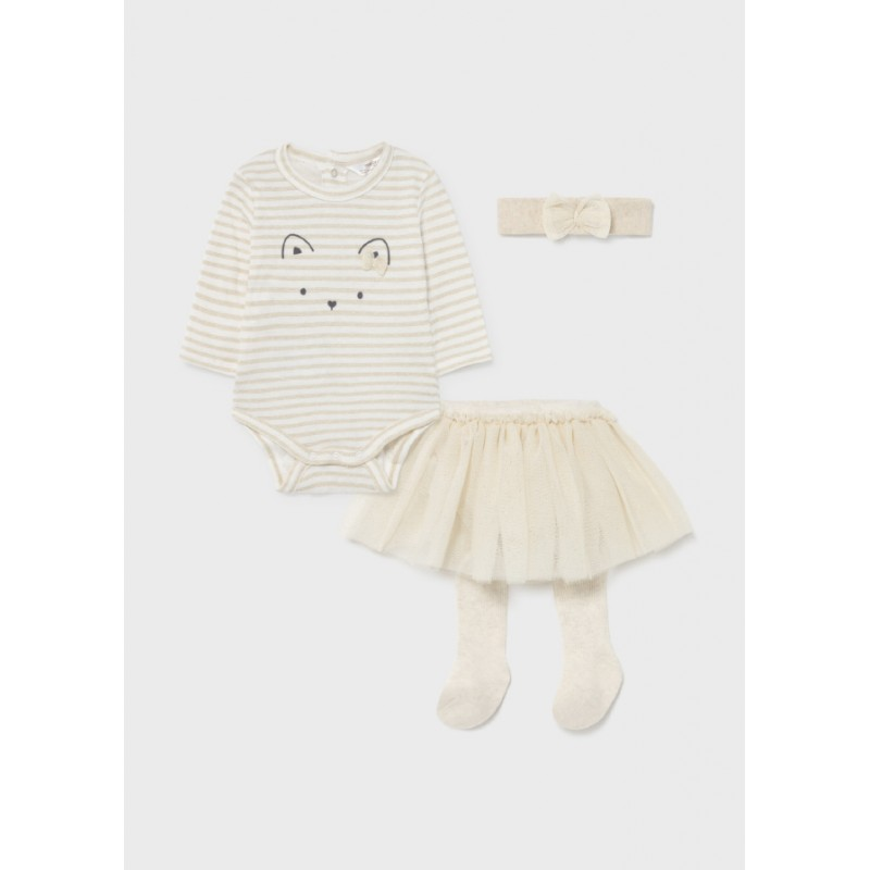 Комплект с пола от тюл за бебе момиче Mayoral 2824-076