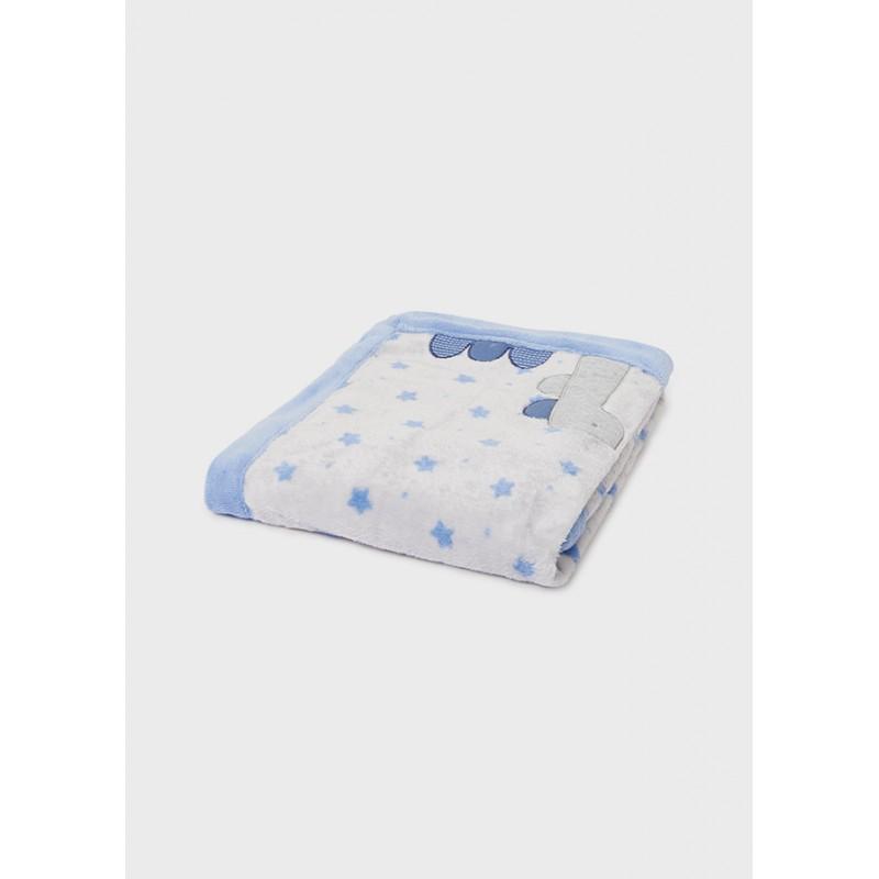 Одеяло с косъм за бебе Mayoral 9020-010
