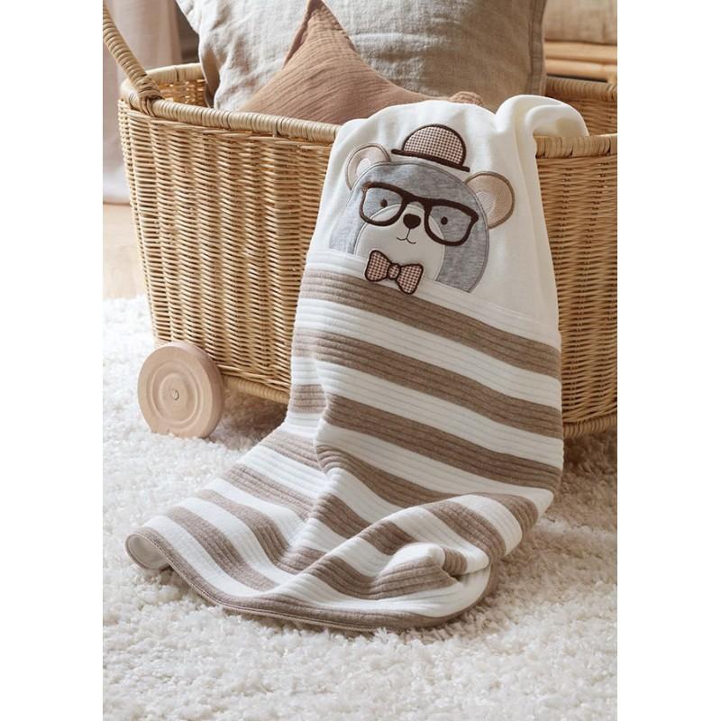 Одеяло за бебе с щампа Mayoral 9016-040