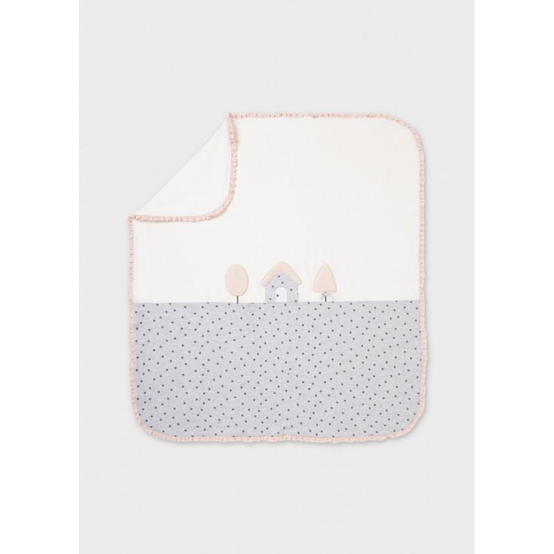 Одеяло за бебе с апликация Mayoral 9016-042