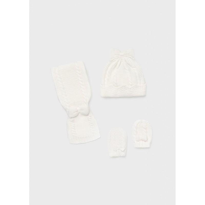 Комплект от шапка и шал за бебе момиче Mayoral 9430-030