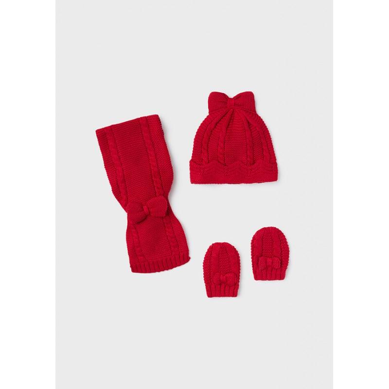 Комплект от шапка и шал за бебе момиче Mayoral 9430-032