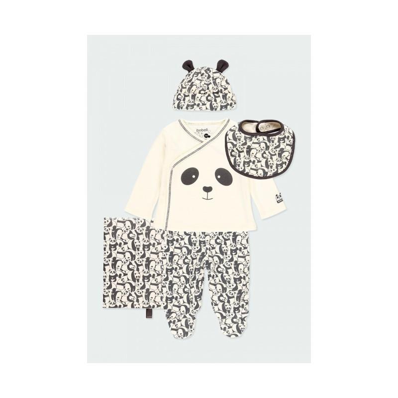 Комплект за новородено бебе Boboli 113106 -7362