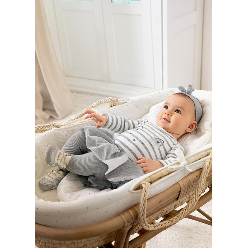 Комплект с пола от тюл за бебе момиче Mayoral 2824